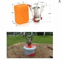 Portable Mini Backpacking Outdoor Gas Butane Propane Caniste