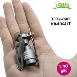 BRS Portable Mini Camping Titanium Stove <font><b>Outdoor</b