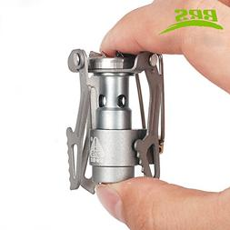 BRS Portable Mini Camping Titanium Stove Outdoor Gas Stove S