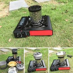 Portable Mini Heating Stove Camping Tent Picnic Cooking Heat