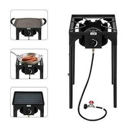 Portable Outdoor Camp Stove Single Burner High Pressure Prop