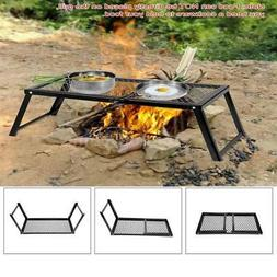 PORTABLE OVER FIRE BBQ GRILL FOLDING BARBECUE PICNIC OUTDOOR