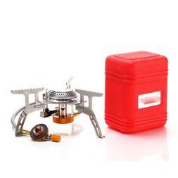 Portable Outdoor Picnic Gas Burner Foldable Camping Mini Ste