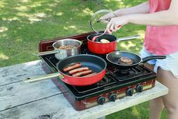 Portable Stove 4 Burner Outdoor Cooking Equipment Gas Campin