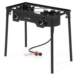 Best Choice Products Propane Gas Outdoor Double Burner Cooke
