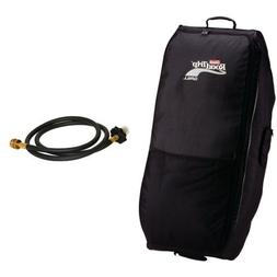Coleman RoadTrip Wheeled Carry Case and Coleman 5 Ft. High-P