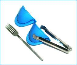 Rocket Stove Accessories - Extendable Fork, Tongs, Silicone