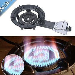 Single Propane Gas Stove Camping Stoves Tailgating Hose+Regu