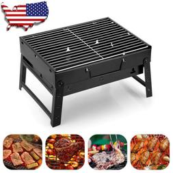 Small Barbecue Stove Charcoal BBQ Grill Patio Camping Picnic