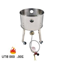 Stainless Steel Outdoor Camping Cooking Stove Single Burner