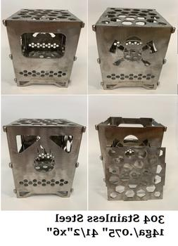 Stainless Steel Portable Camping Stove