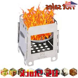 Stove Compact Folding Wood Stove Portable Outdoor Camping St