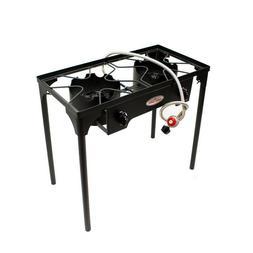 Stove Propane 2 Burner Portable Cooker Professional Outdoor
