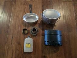 Swedish Army Trangia Cook Stove Alcohol Burner Mess Kit Cook