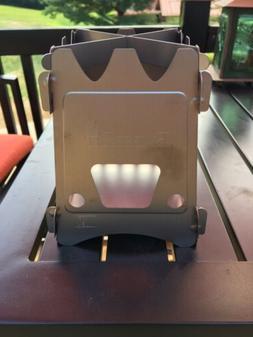 Emberlit Titanium UL Compact Design Perfect for Survival, Ca