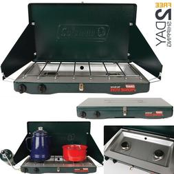 Typical Durable Classic Propane Stove Car Trips Camping Gril