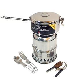SilverFire Ultimate Scout Gasifier Twig Stove Combination Ki