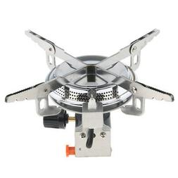 Ultra-light Portable Outdoor Backpacking Camping Stove with