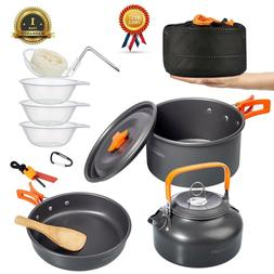 Ultralight Camping Cookware Set Camping Stove Outdoor Cookin