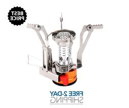 Ultralight Portable Camping Stoves Backpacking Stove W Piezo