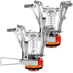 REEHUT Ultralight Portable Camping Stoves Backpacking With P