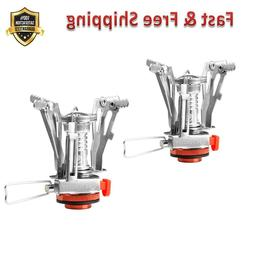 Ultralight Portable Mini Outdoor Backpacking Camping Stoves