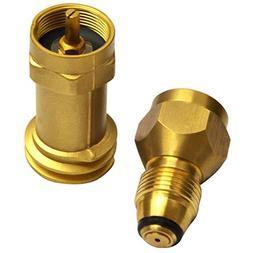 Onlyfire Universal Safest 1 LB Propane Tank Cylinder Adapter