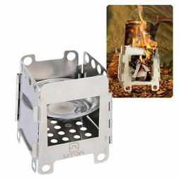US Alcohol Stove Outdoor Stainless Steel Folding Stove Campi