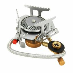 US Outdoor Camping Portable Gas Stove Butane Propane Burner