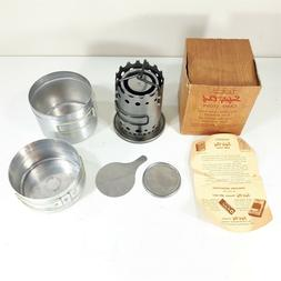 Vulcan Safety Chef Vintage Camp Stove 1950's