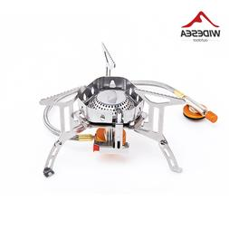 Widesea Wind proof outdoor gas burner <font><b>camping</b></