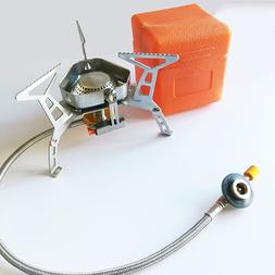 Wind proof outdoor gas burner <font><b>camping</b></font> <f